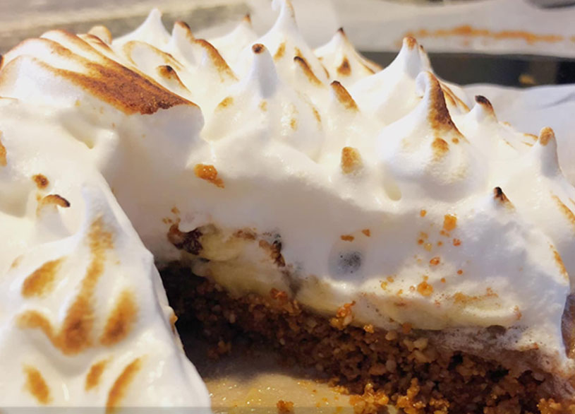 Banana Cream Pie opskrift